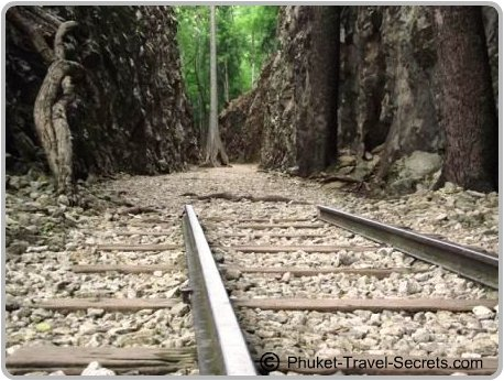 Railway Tracks at Hellfire Pass, Kanchanaburi.