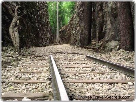 Railway Tracks at Hellfire Pass, Kanchanaburi.
