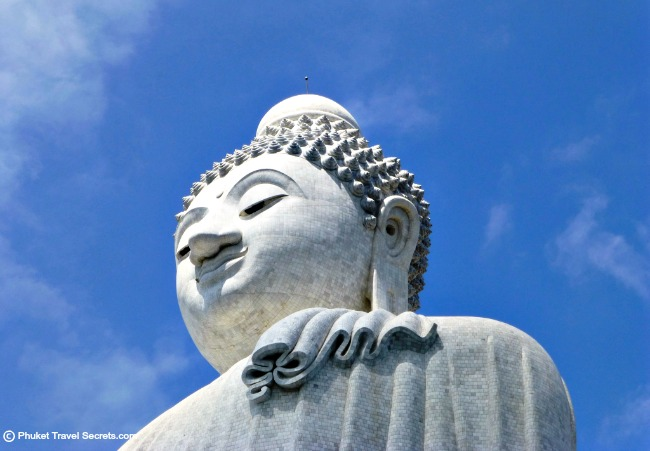 Attractions in Phuket include Big Buddha.