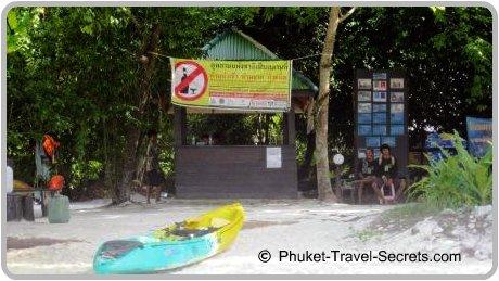 National Park Ranger Station at Koh Hong.