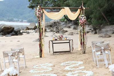 Rustic wedding ideas in Phuket
