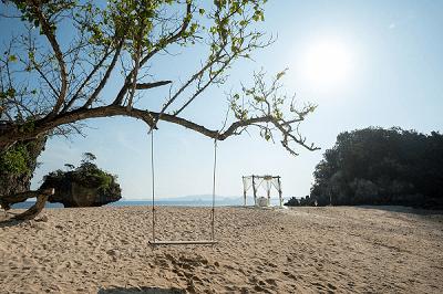 Island beach Weddings beyond Phuket