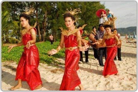 Ivory wedding procession