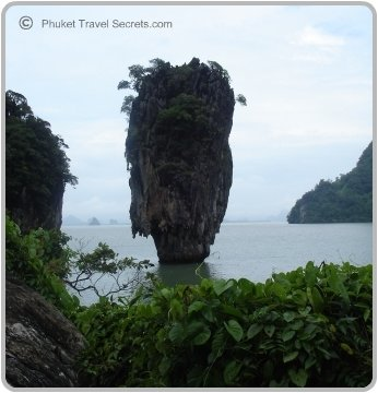 Koh Tapu is better known as James Bond Island.
