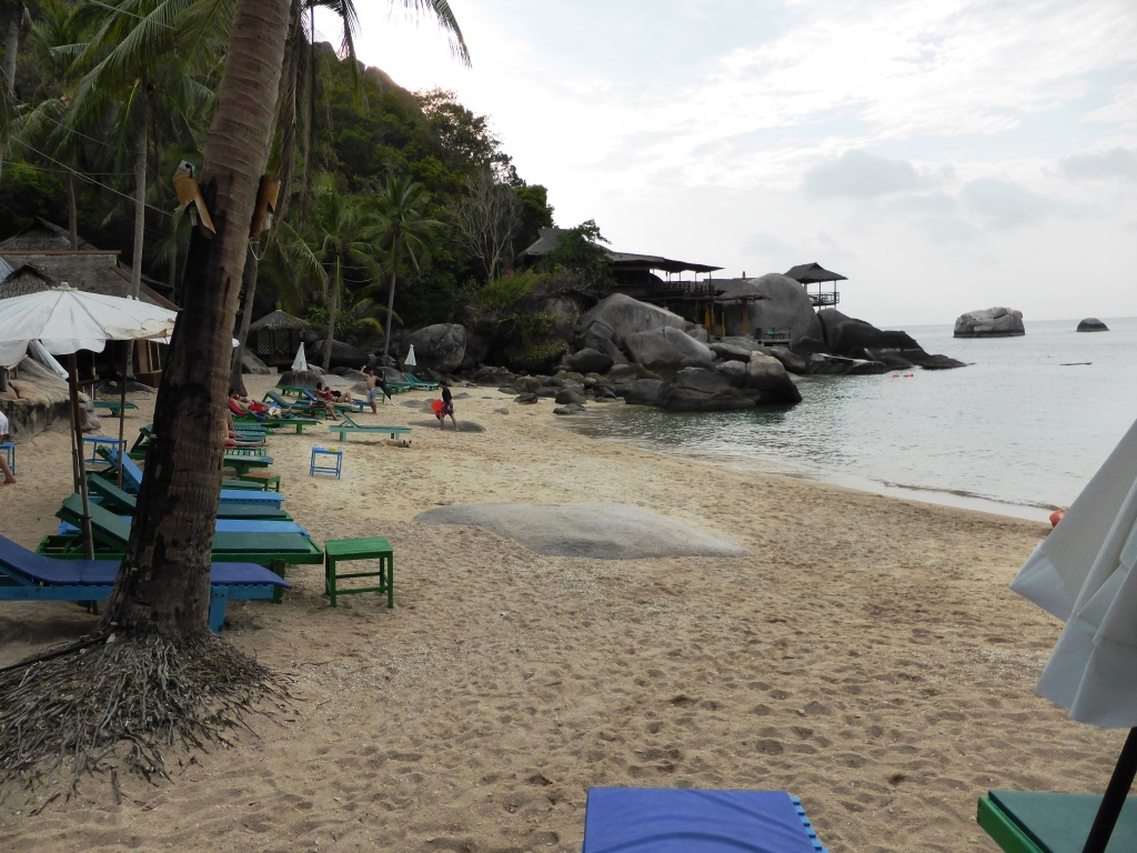 Beach at Jansom Bay, Ko Tao
