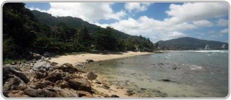 Looking towards Patong from Kalim Beach / Bay.