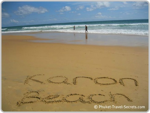 Karon Beach in Phuket is personally one of our favorite beaches on the Island.