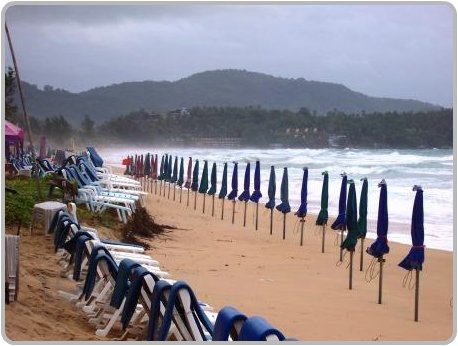 Phuket Weather Brings Rough Seas Mid September
