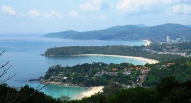Enjoy the views from Kata Karon viewpoint on a sightseeing tour around Phuket