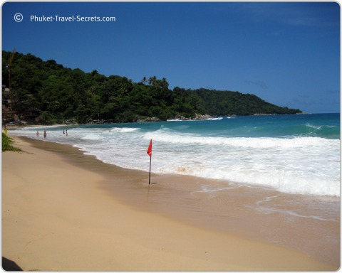 Kata Noi Beach in Phuket.
