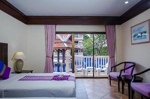 Kata Poolside Resort - Pool view room