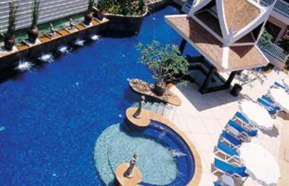 Swimming pool at Kata Poolside resort