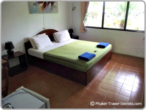 The rooms at Kata Villa.