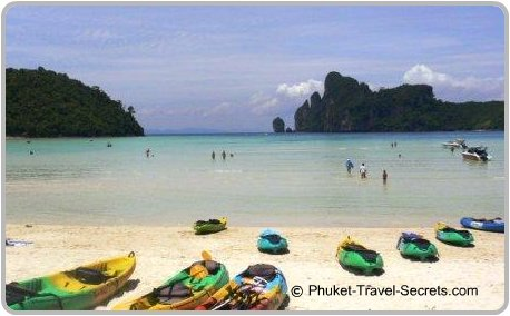 Loh Dalum Bay, Phi Phi Islands