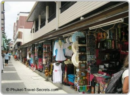 Shopping at Phi Phi Don in Tonsai Village