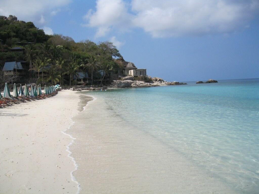 Sandbar Beach at NangYuan Island