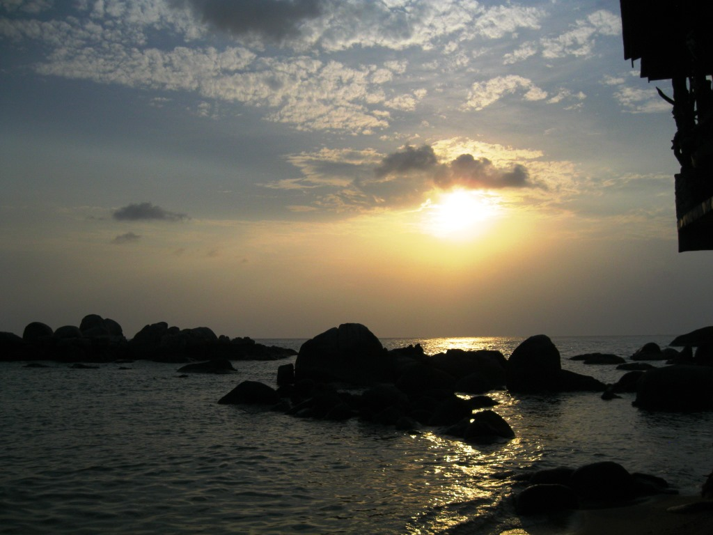 Magnificent Sunsets at Ko Tao