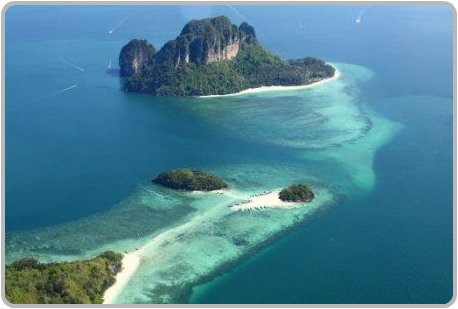 Tup Island, Tub Island Day Trips and Tours, Krabi Thailand Attractions