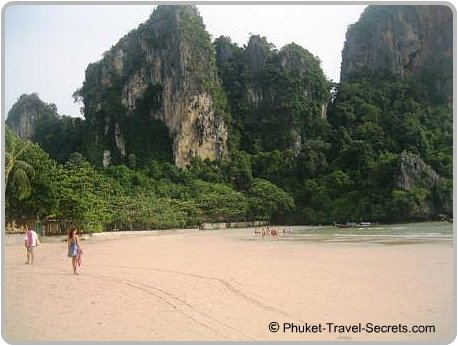 West Railay Beach, Krabi.
