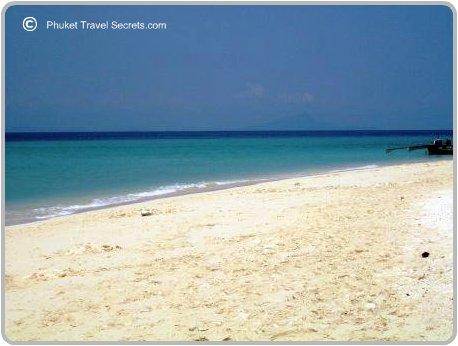 Beach at Poda Island