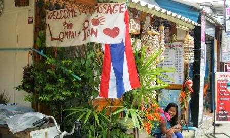 massage at Ko Phi Phi