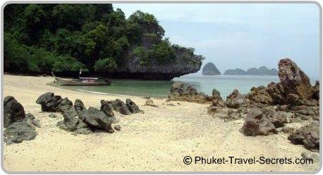 Pakbia Island in the National Marine Park, Krabi.