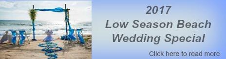 Special Wedding Price for Low Season Beach Wedding in Phuket