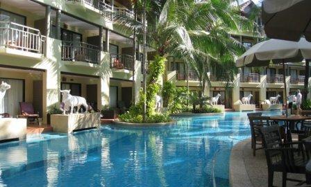 Merlin Beach Resort Phuket Beachfront Resort At Tri Trang