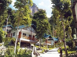 Mountain View Resort in Tonsai Bay, Krabi