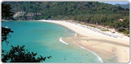Nai Harn Beach in Phuket.