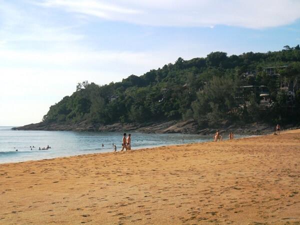 Nai Thon Beach in Phuket