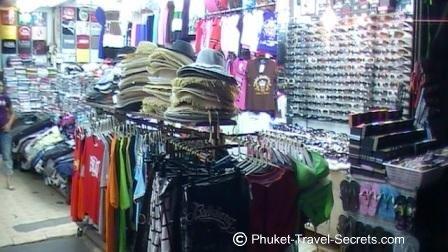 Street stalls in Patong Beach Phuket