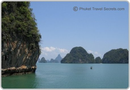 Exploring the natural beauty of Phang Nga Bay.