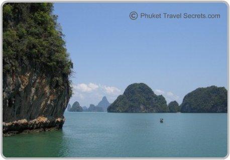 Exploring the natural beauty of Phang Nga Bay.