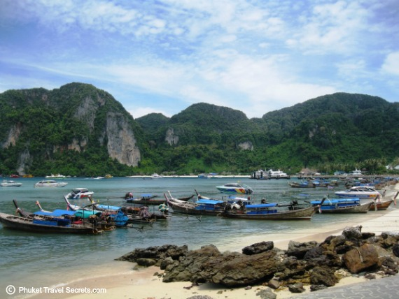 Phi Phi Island has a load of fun activities