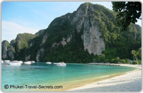 Tonsai Bay at Phi Phi Islands