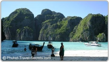 Maya Bay, Phi Phi Islands Thailand
