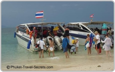 Speedboat Tours to Islands around Phuket