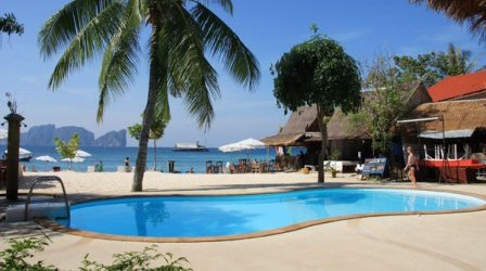 Swimming Pool at Phi Phi Beach Resort