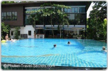 Swimming pool at Phi Phi Villa resort