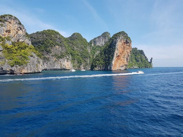 Stunning views of Phi Phi Ley
