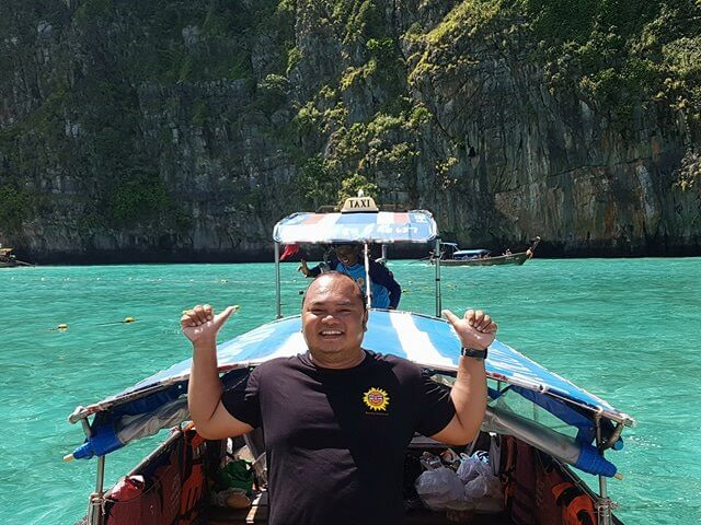 Mr Ti our Easy Day Thailand Guide.