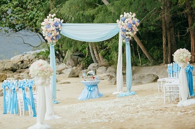 Wedding on the beach in Phuket