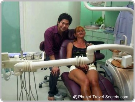 My friendly dentist in Phuket