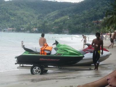 Patong Beach Jet Ski Operators
