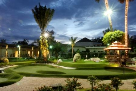 Greens at Phuket adventure Golf