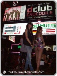 dcluc crocodile bar, Bangla Road Phuket