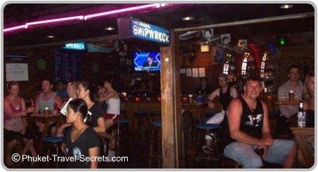 Shipwreck Bar in Soi Bangla Patong Phuket.