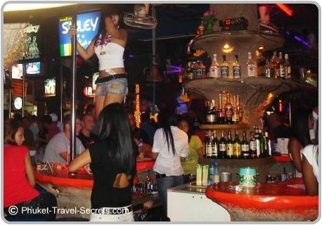 Smiley Bar, Soi Bangla Patong.