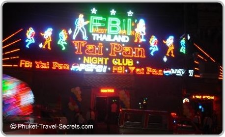 Tai Pan Night Club, Patong Phuket